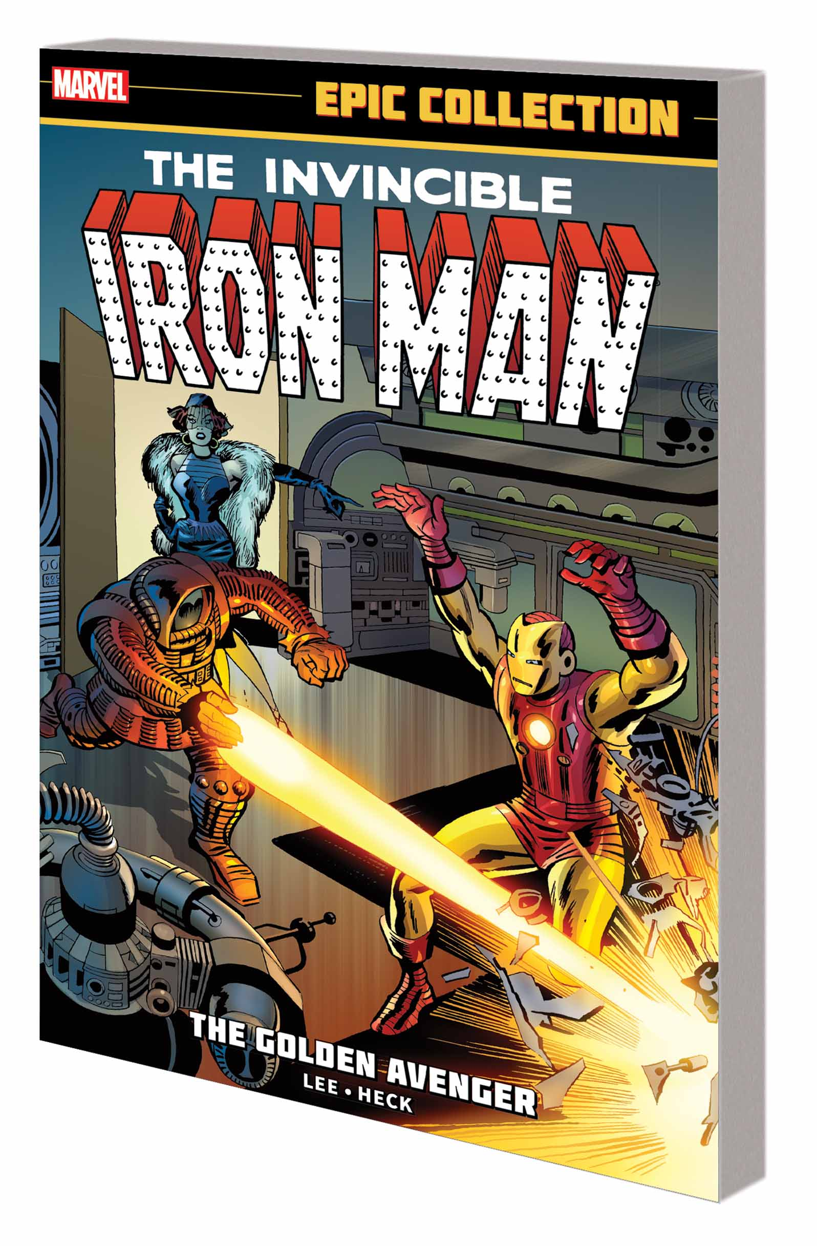 Iron Man Epic Collection: The Golden Avenger (Trade Paperback)