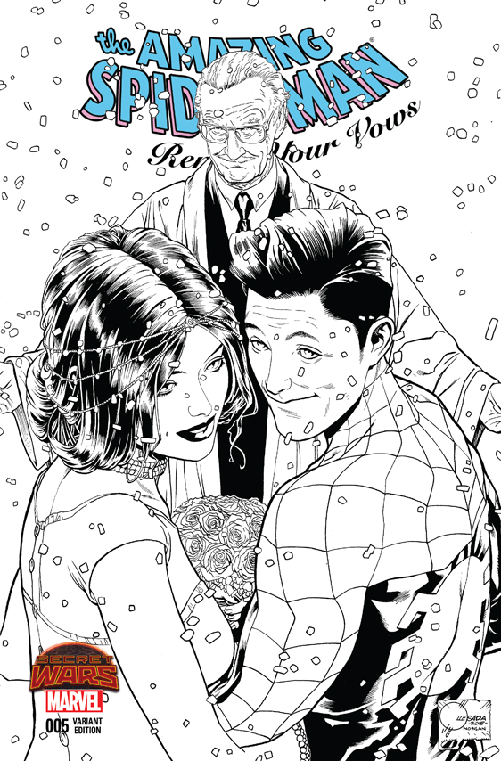 Amazing Spider-Man: Renew Your Vows (2015) #5 (Quesada Sketch Variant B)