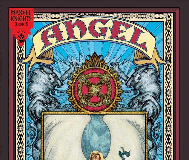ANGEL: REVELATIONS (2008) #3 Cover