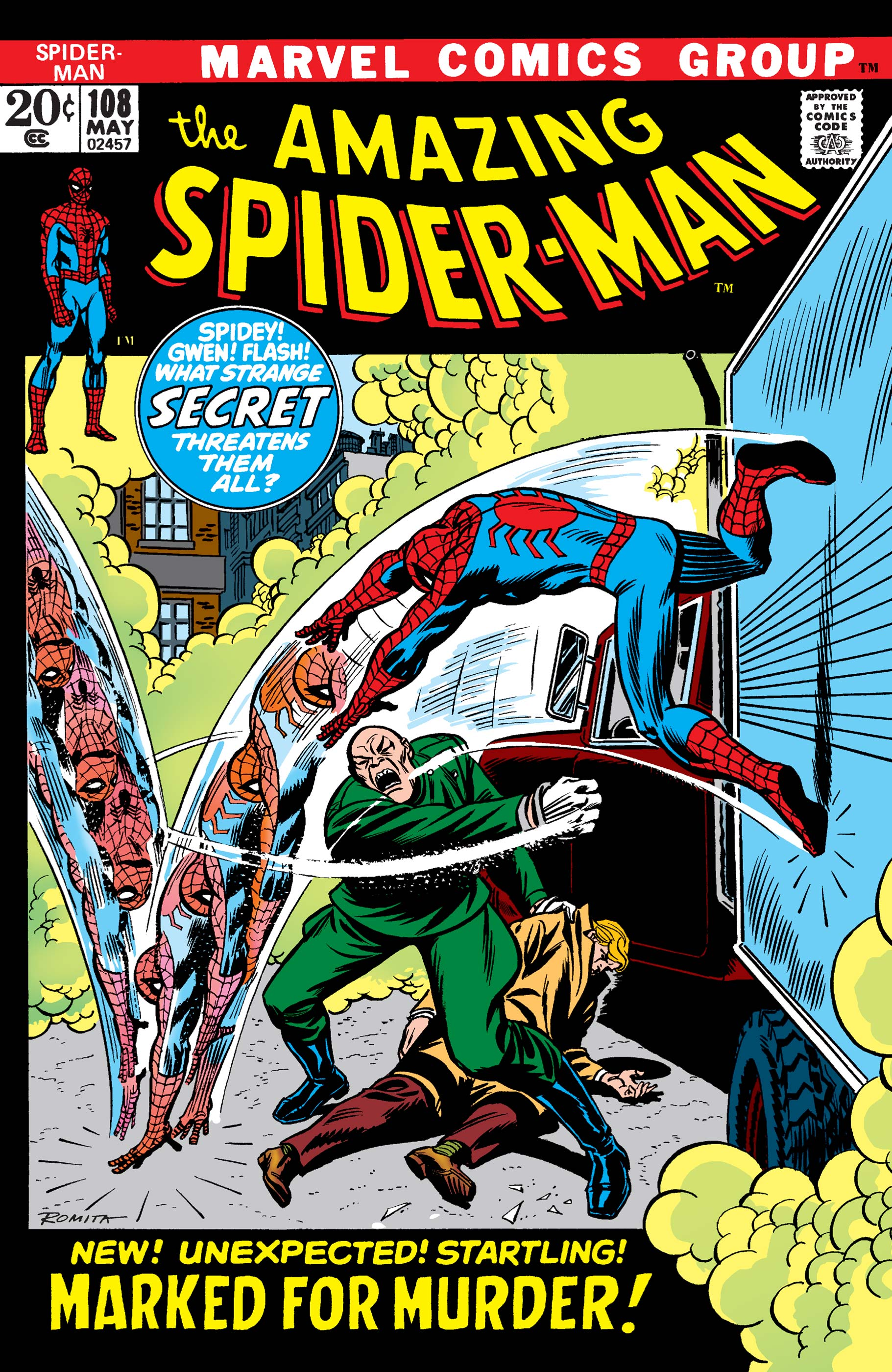 The Amazing Spider-Man (1963) #108