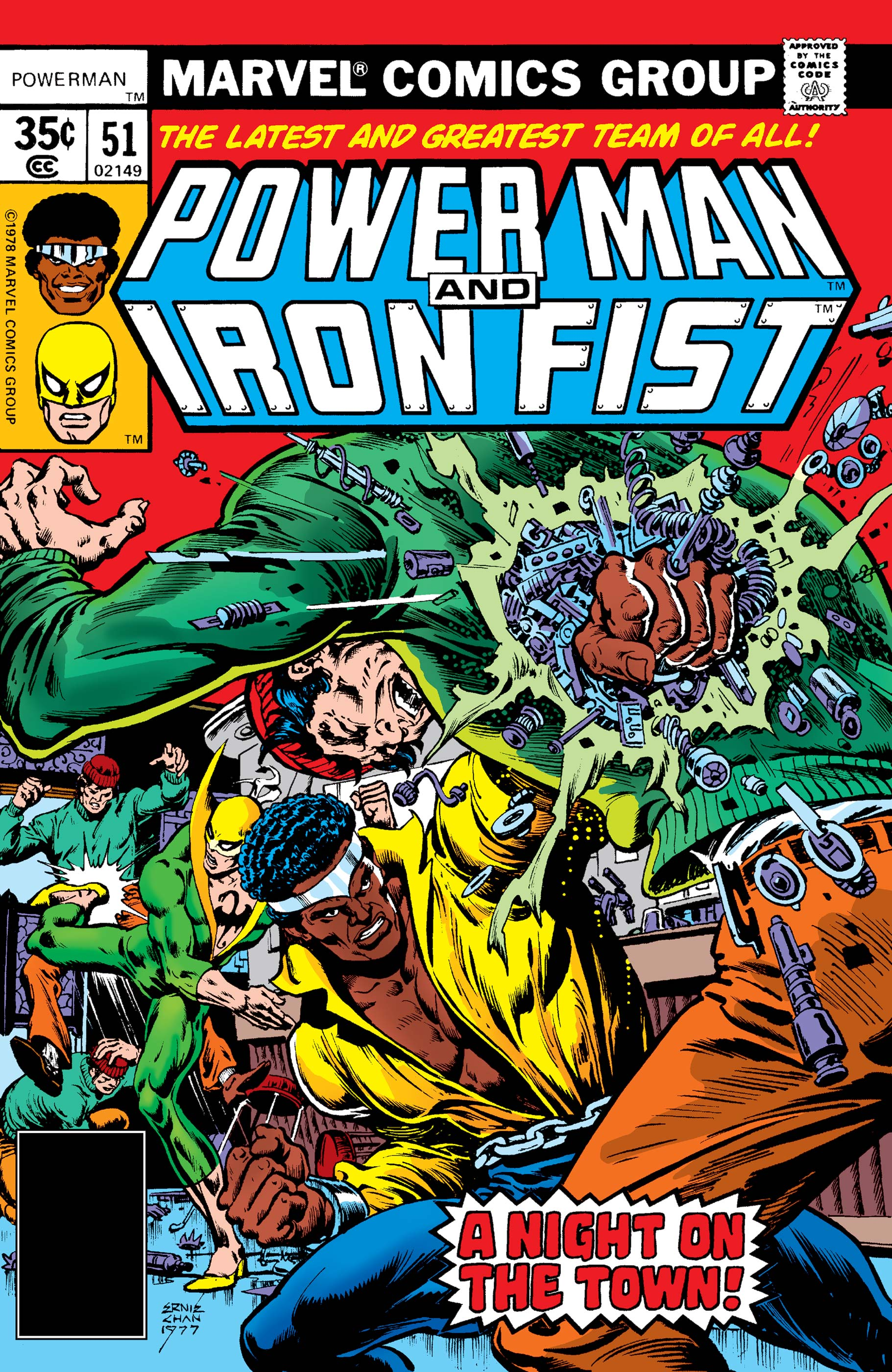 Power Man and Iron Fist (1978) #51