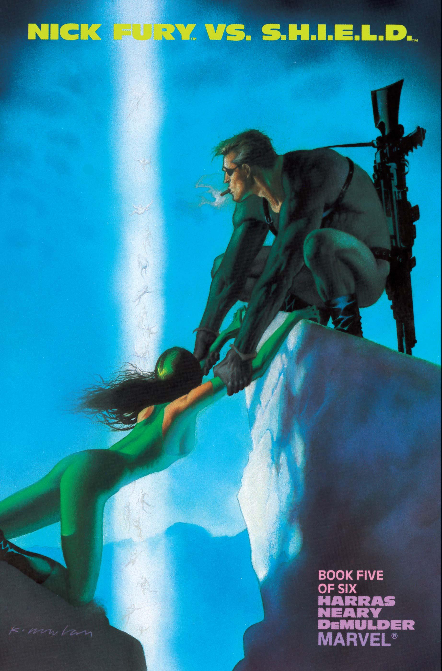 Nick Fury Vs. S.H.I.E.L.D. (1988) #5