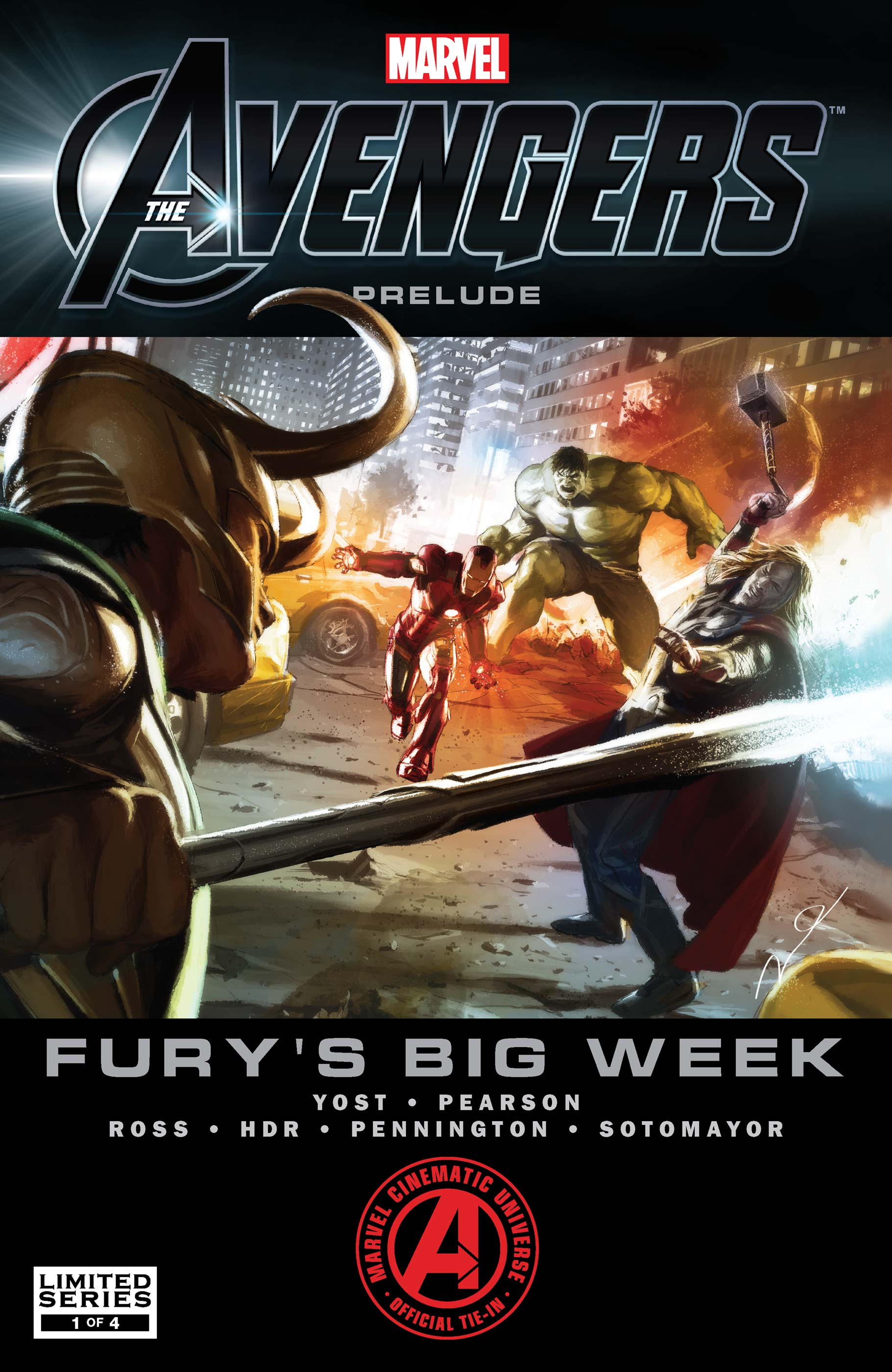 Marvel's The Avengers Prelude: Fury's Big Week (2011) #1