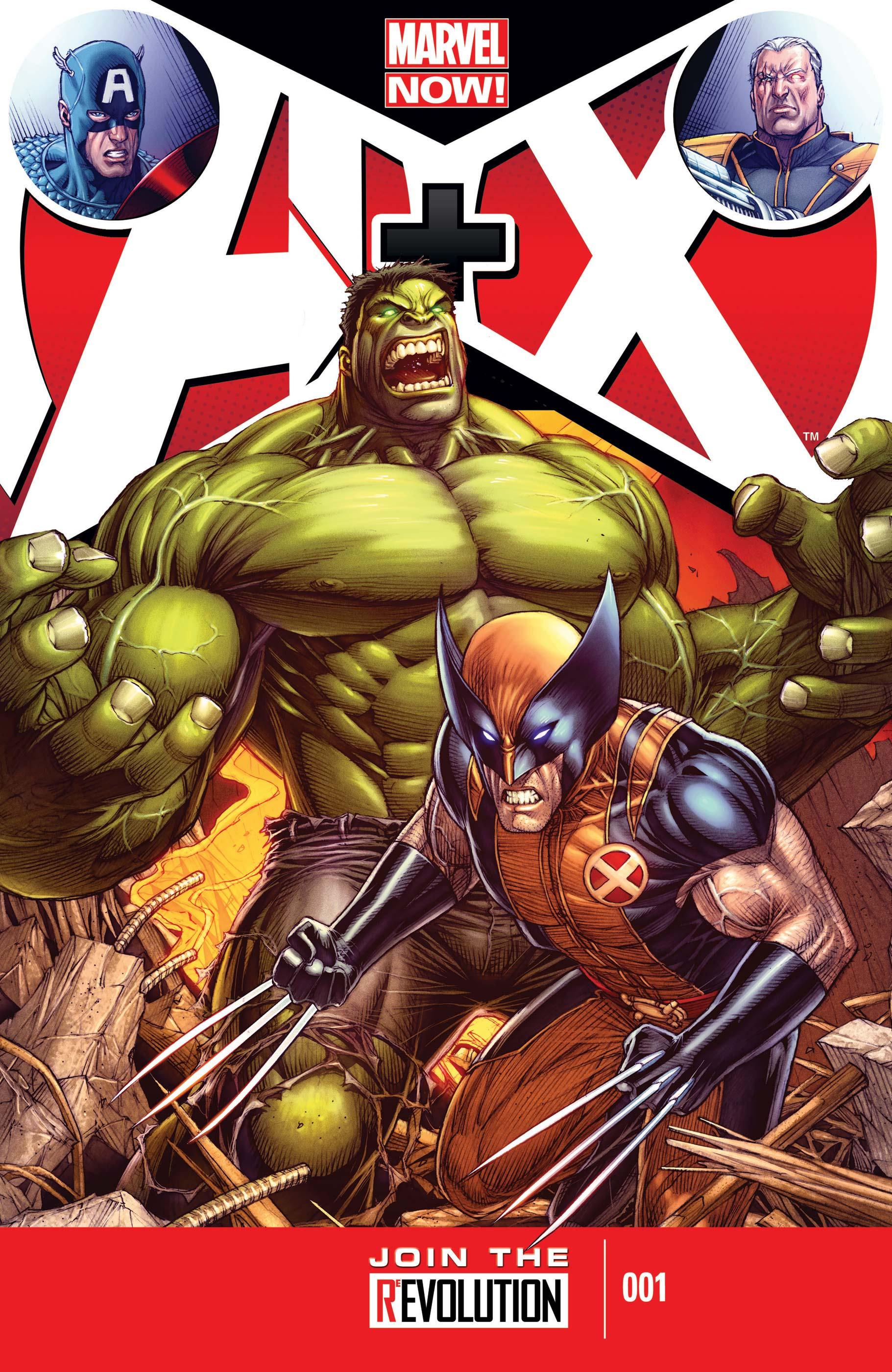 A+X (2012) #1