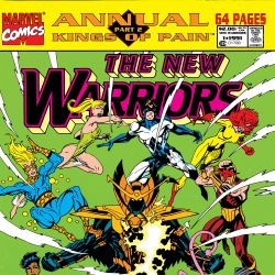 New Warriors Annual