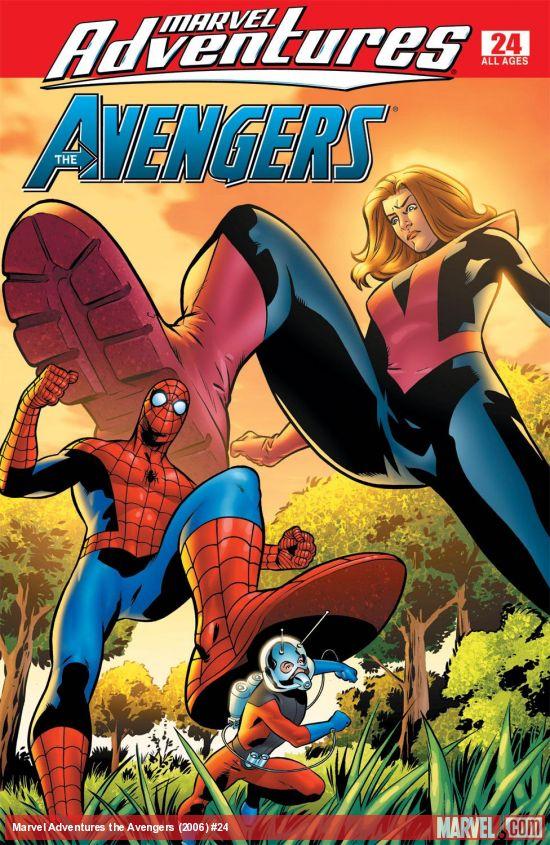 Marvel Adventures the Avengers (2006) #24