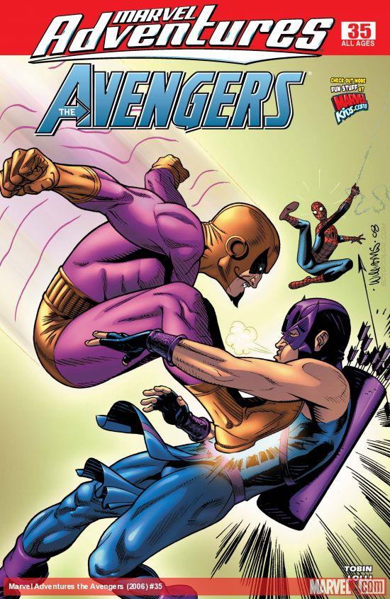 Marvel Adventures the Avengers (2006) #35
