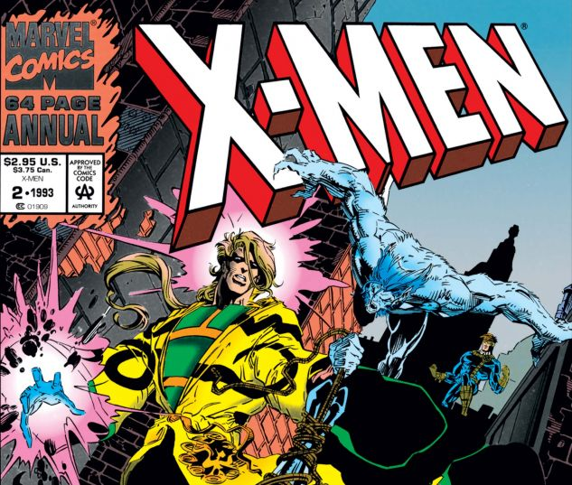 cover to X-Men Annual (1991) #2
