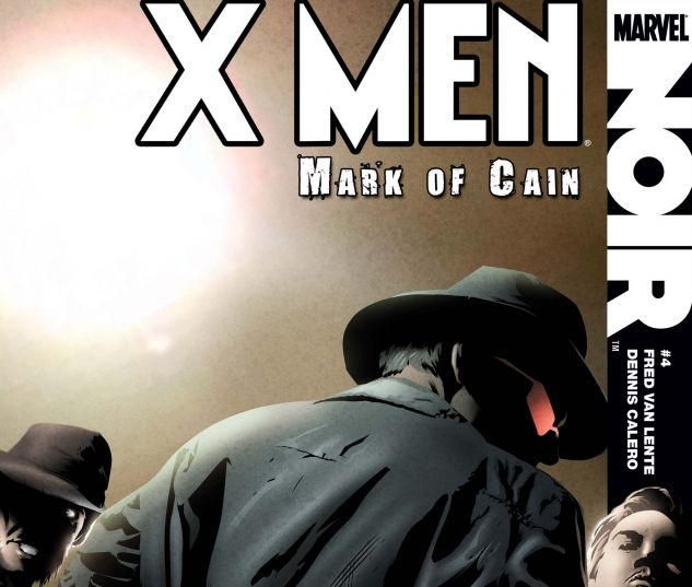 X-MEN NOIR: MARK OF CAIN (2009) #4