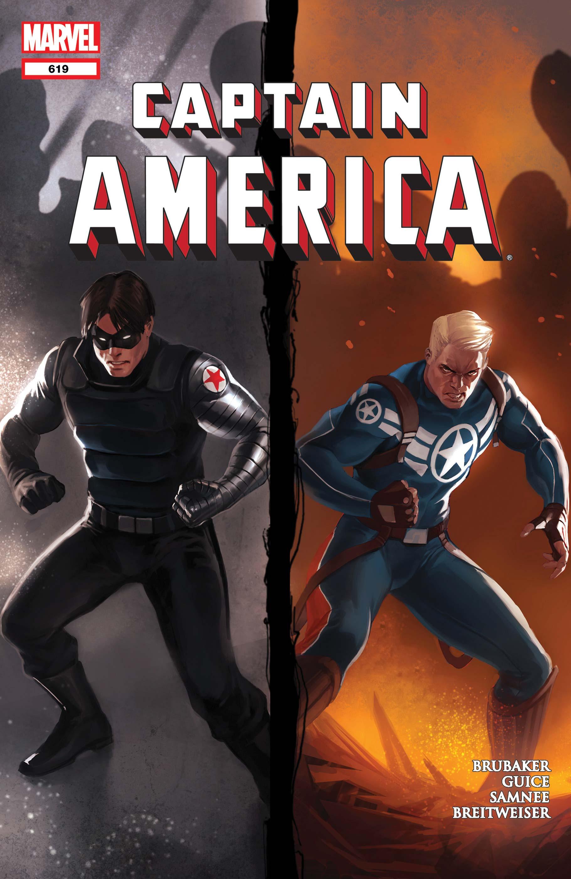 Captain America (2004) #619