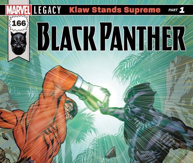 Cover for BLACK PANTHER 166