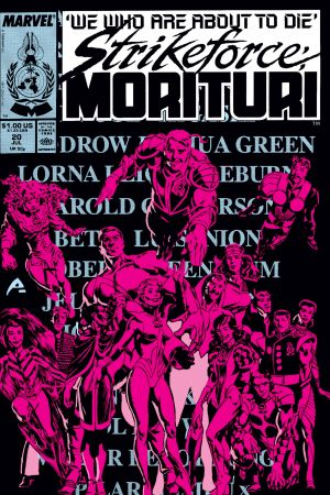 Strikeforce: Morituri (1986) #20