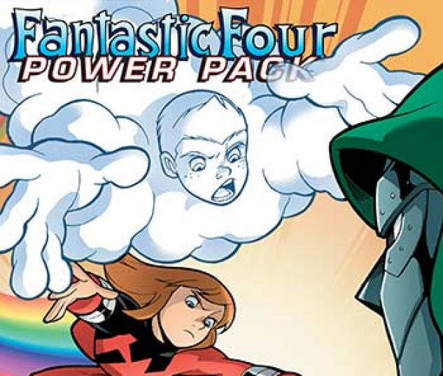cover from Fantastic Four and Power Pack Infinite Comic (2018) #6