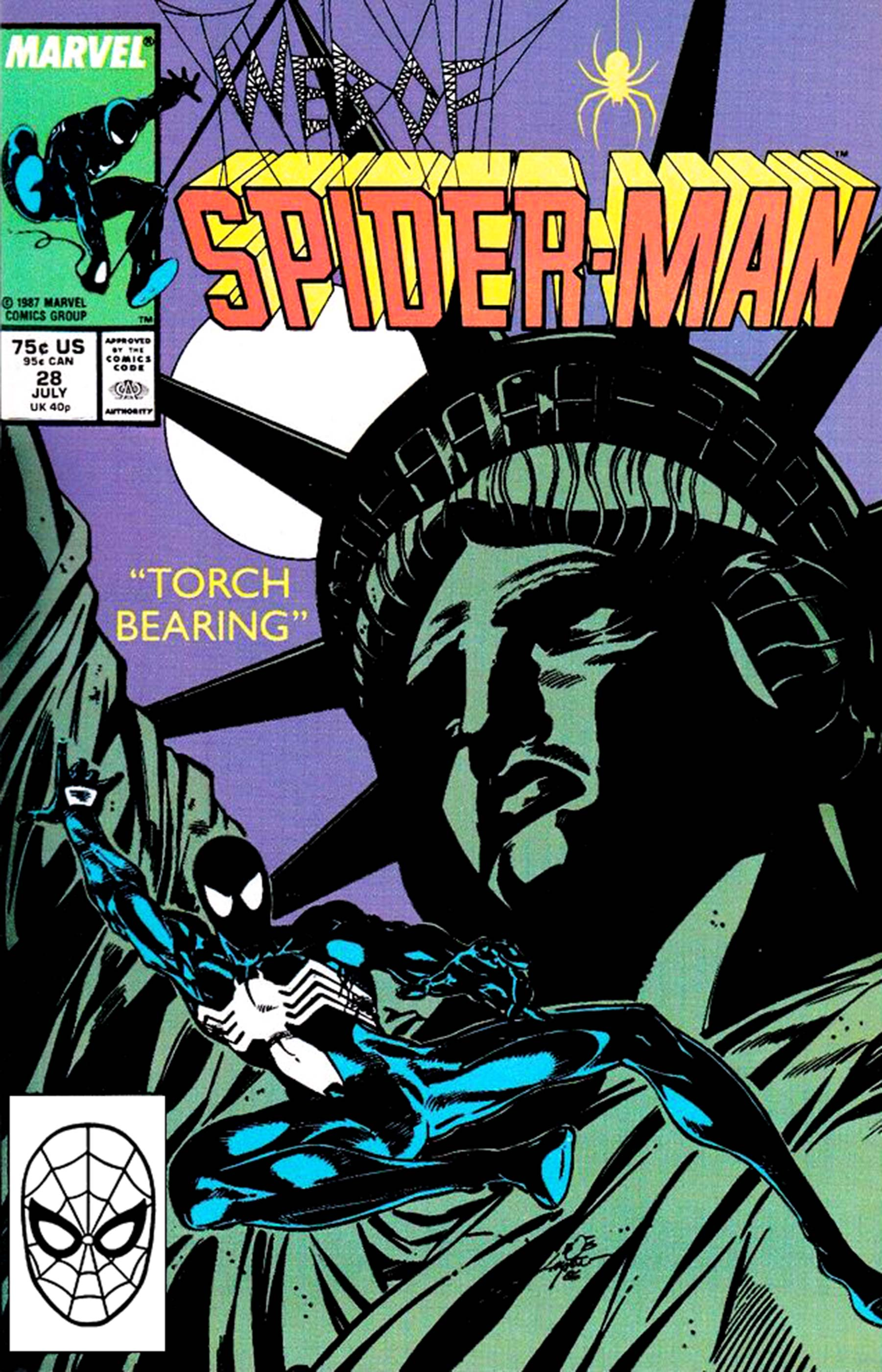 Web of Spider-Man (1985) #28