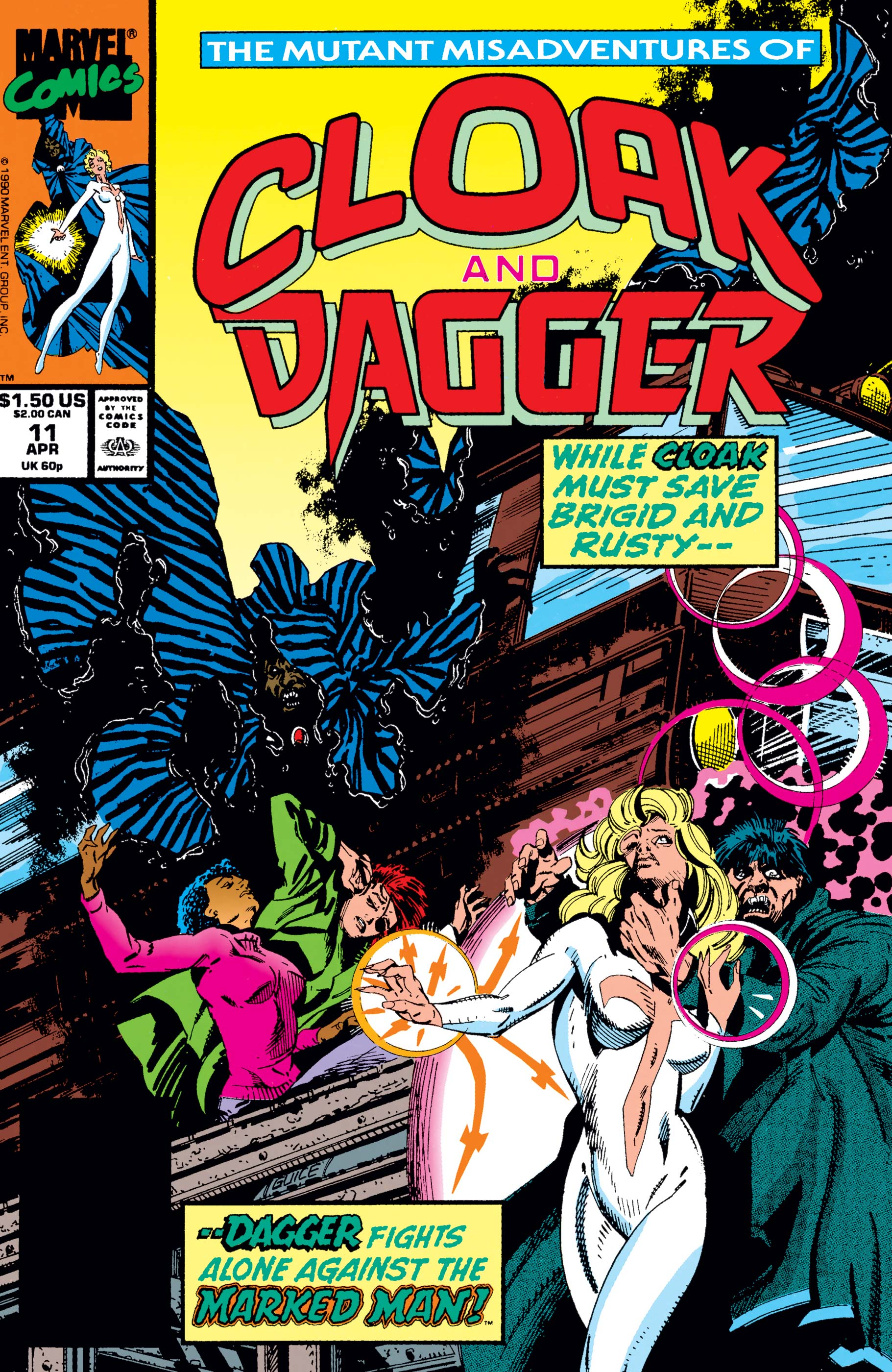 The Mutant Misadventures of Cloak and Dagger (1988) #11
