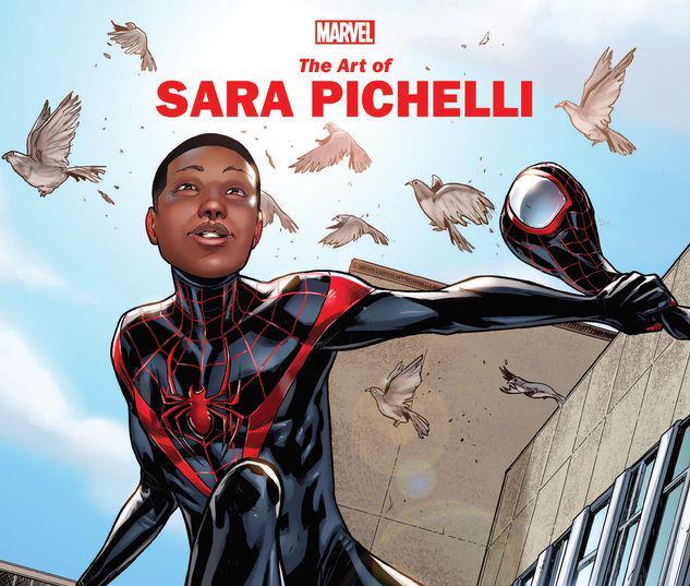 MARVEL MONOGRAPH: THE ART OF SARA PICHELLI TPB #1