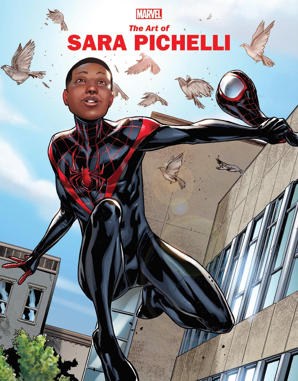 Marvel Monograph: The Art Of Sara Pichelli (Trade Paperback)