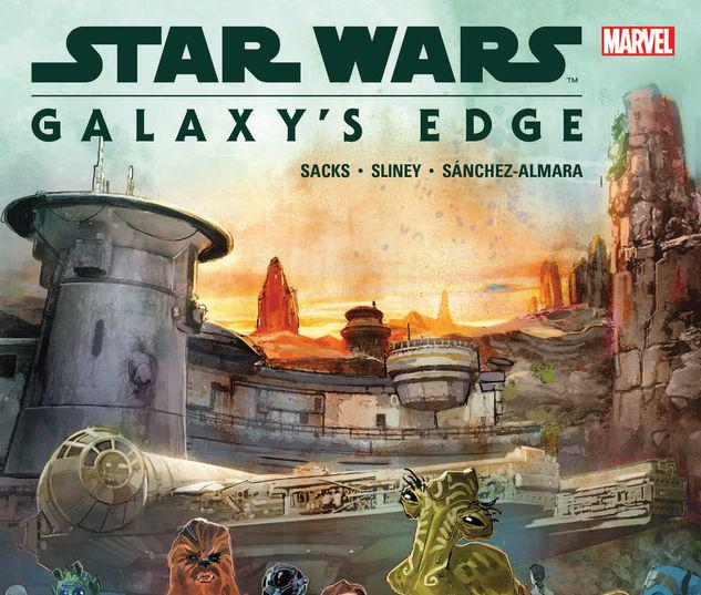 STAR WARS: GALAXY'S EDGE TPB #1