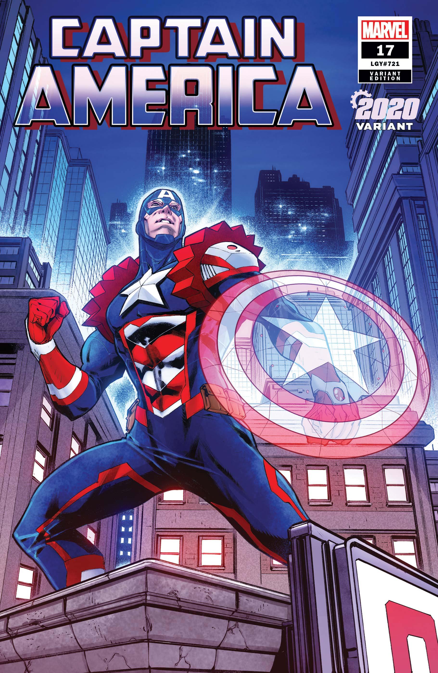 Captain America (2018) #17 (Variant)