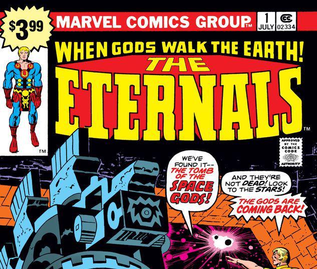 ETERNALS 1 FACSIMILE EDITION #1