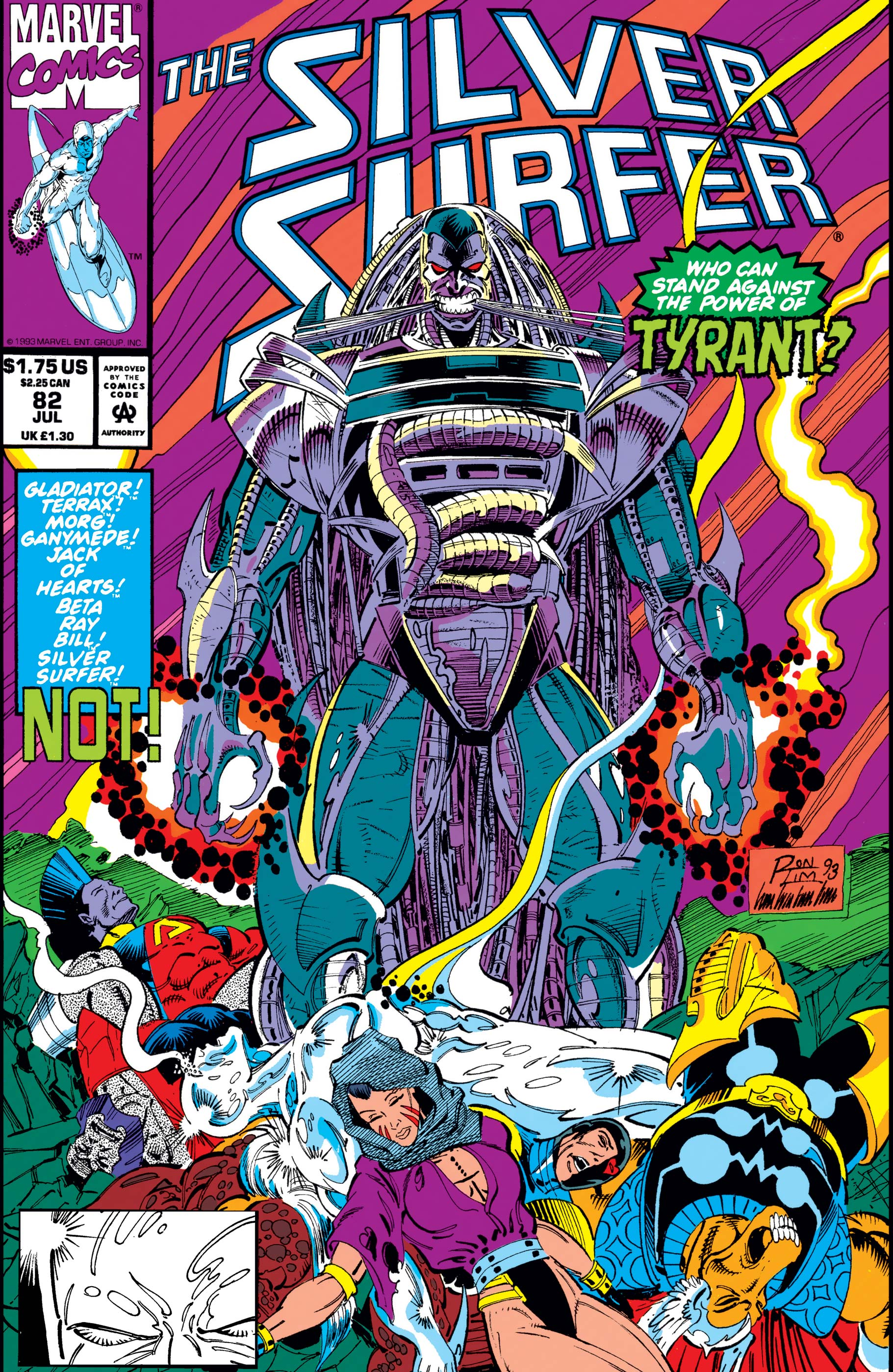 Silver Surfer (1987) #82