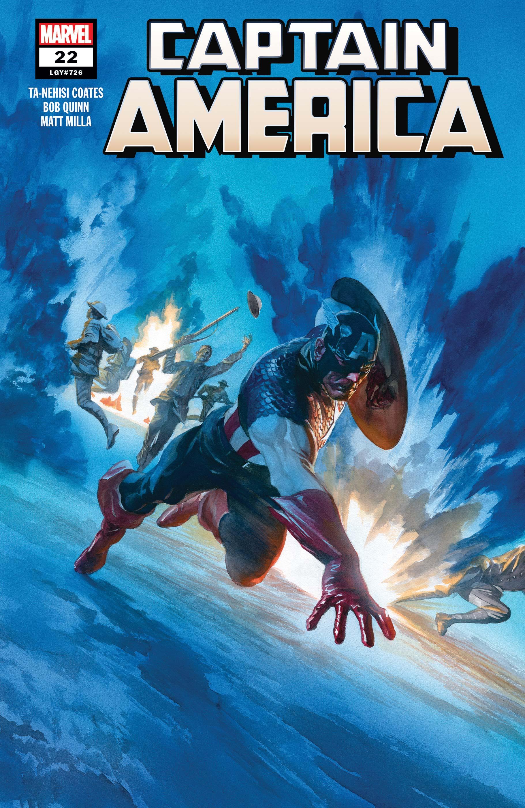 Captain America (2018) #22