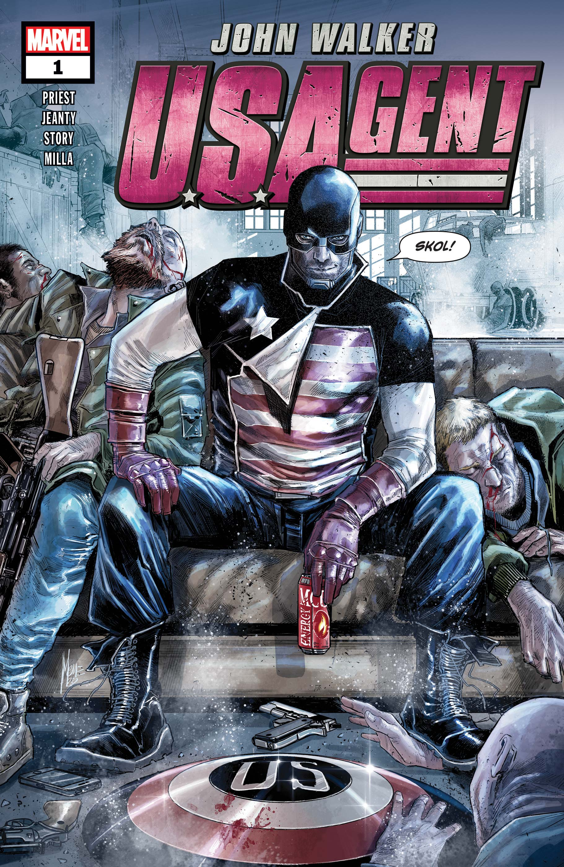 U.S.Agent (2020) #1