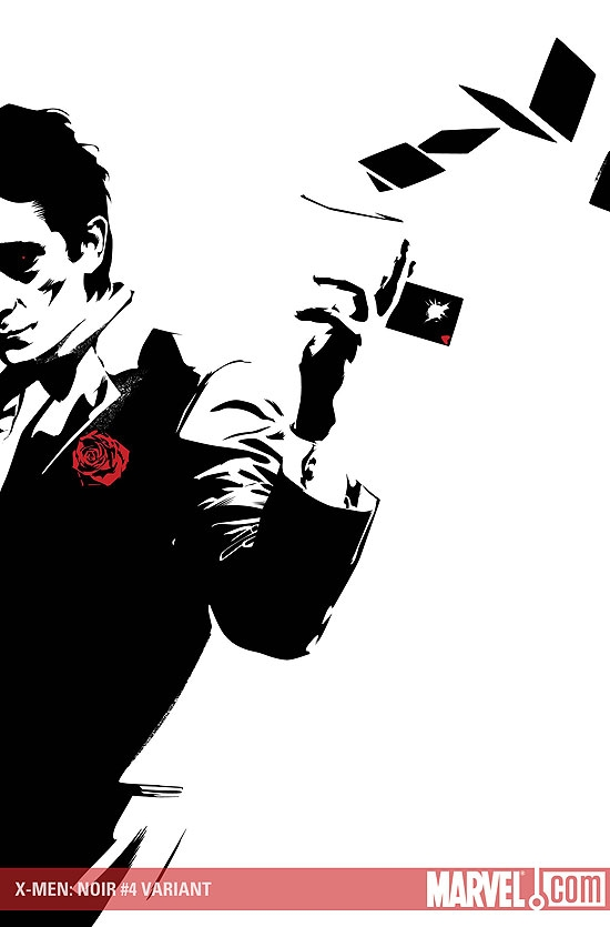 X Men Noir (2008) #4 (CALERO VARIANT)