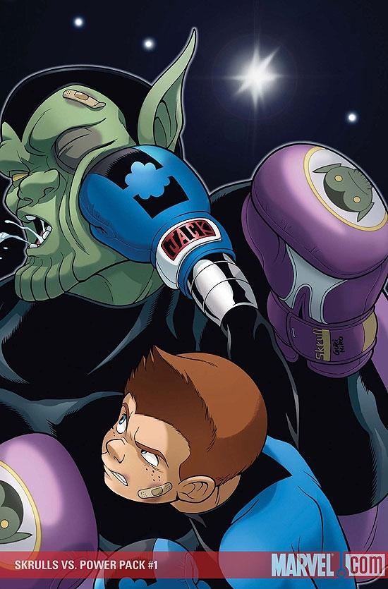 Skrulls Vs. Power Pack (2008) #1