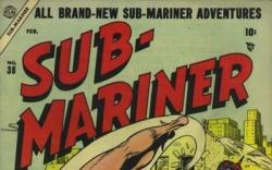 SUB-MARINER COMICS #38 cover