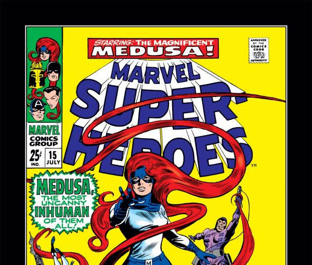 Marvel Super-Heroes (1967) #15 Cover