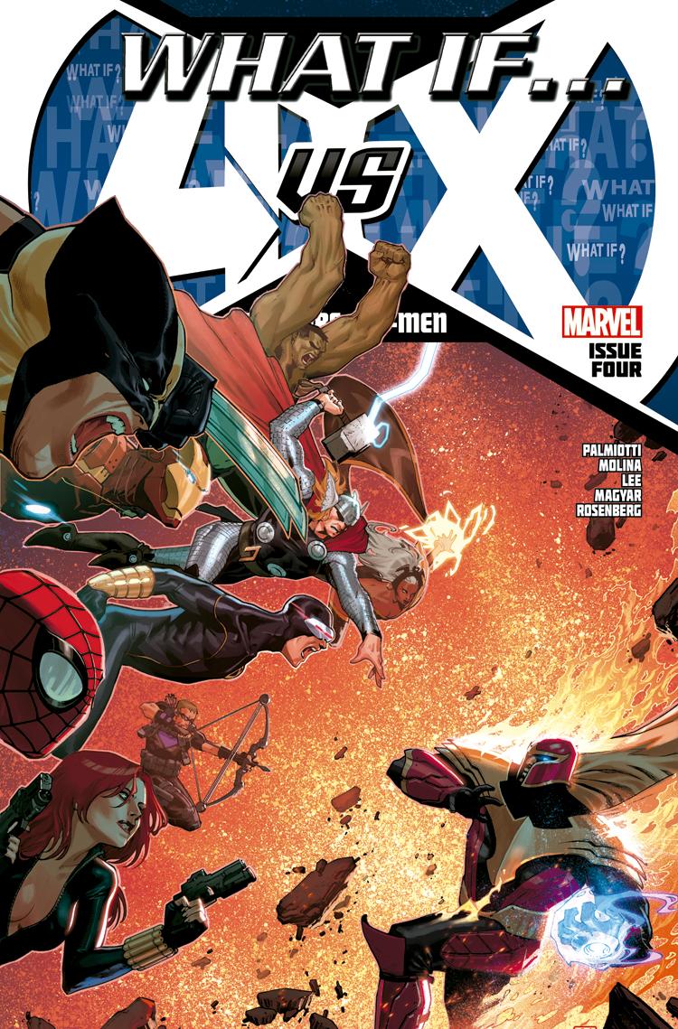 What If? Avengers Vs. X-Men (2013) #4