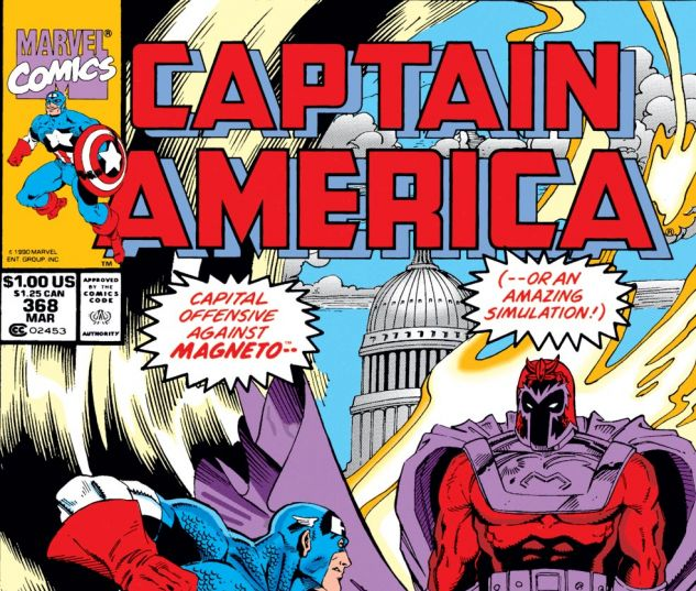 Captain America (1968) #368 Cover
