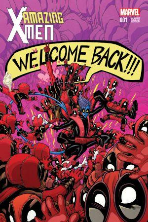 Amazing X-Men (2013) #1 (Moore Deadpool Variant)