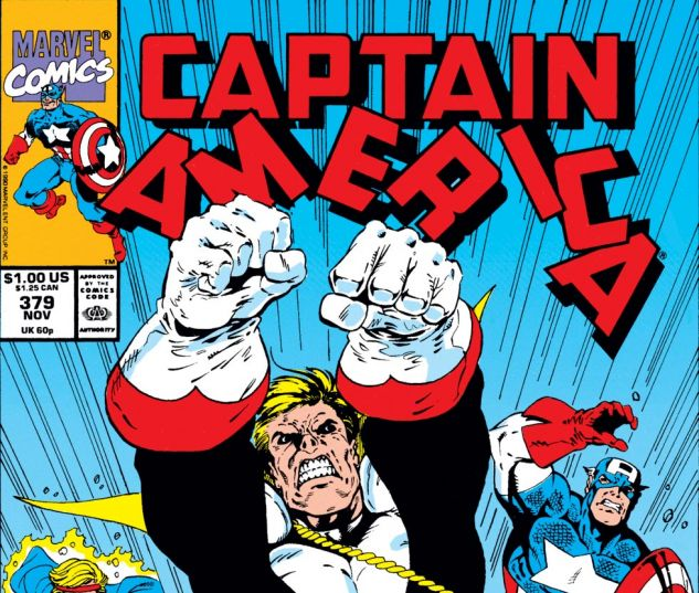 Captain America (1968) #379 Cover