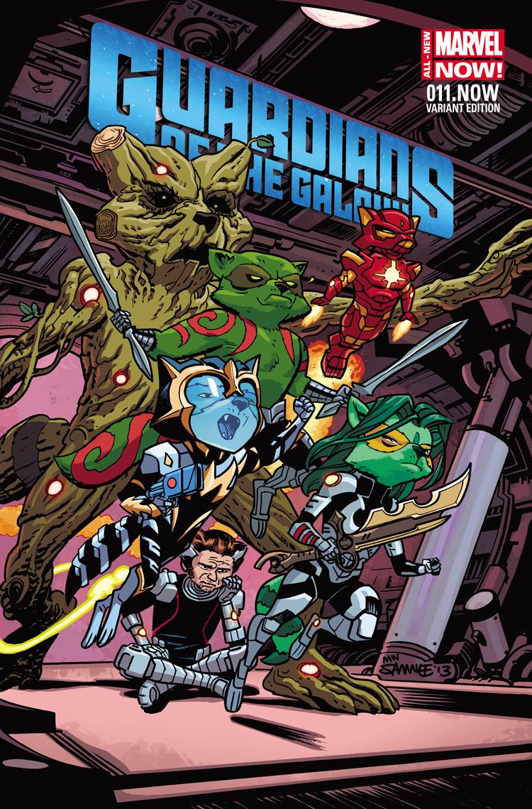 Guardians of the Galaxy (2013) #11 (Samnee Animal Variant)