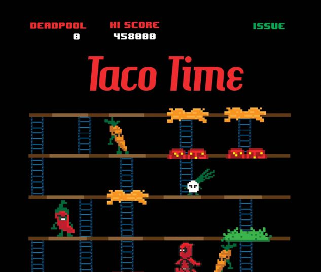Deadpool #27 taco time variant cover by Matthew Waite