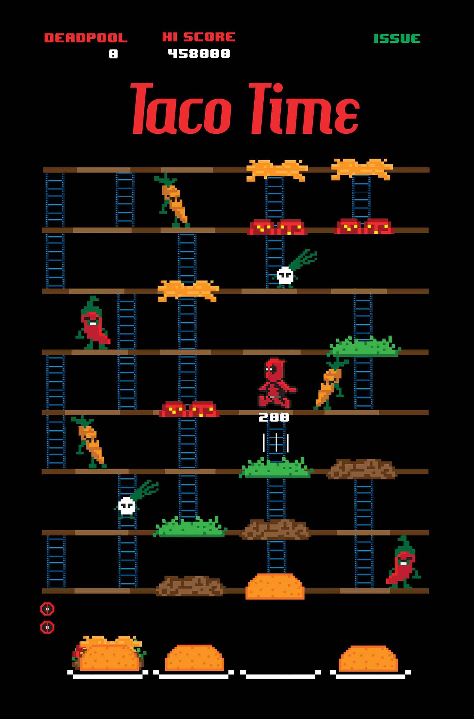 Deadpool (2012) #27 (Waite Taco Time Variant)