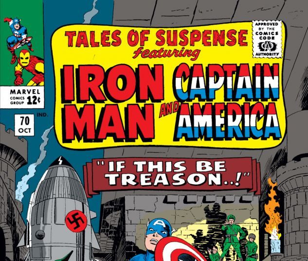 Tales of Suspense (1959) #70 Cover