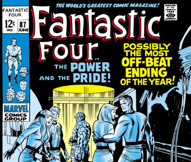 Fantastic Four (1961) #87 Cover