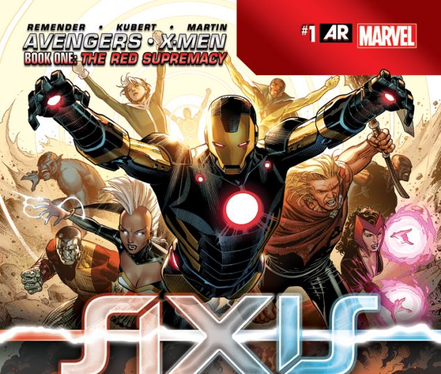 AVENGERS & X-MEN: AXIS 1 (AX, WITH DIGITAL CODE)