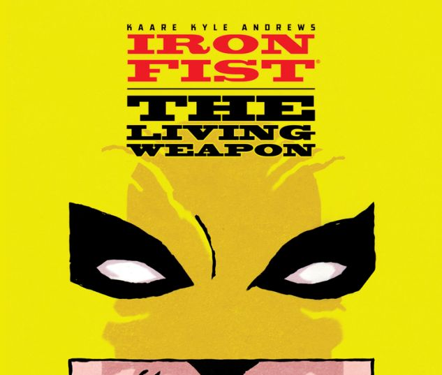 IRON FIST: THE LIVING WEAPON 9 (WITH DIGITAL CODE)