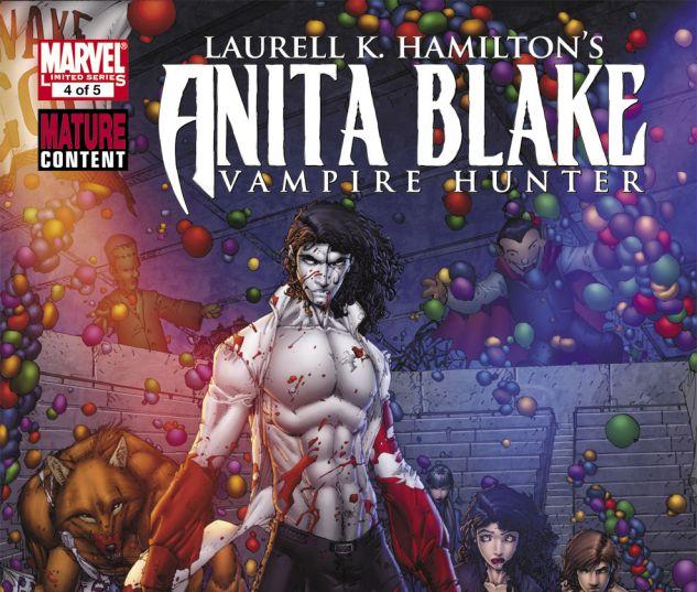 ANITA BLAKE: CIRCUS OF THE DAMNED - THE CHARMER (2010) #4 Cover