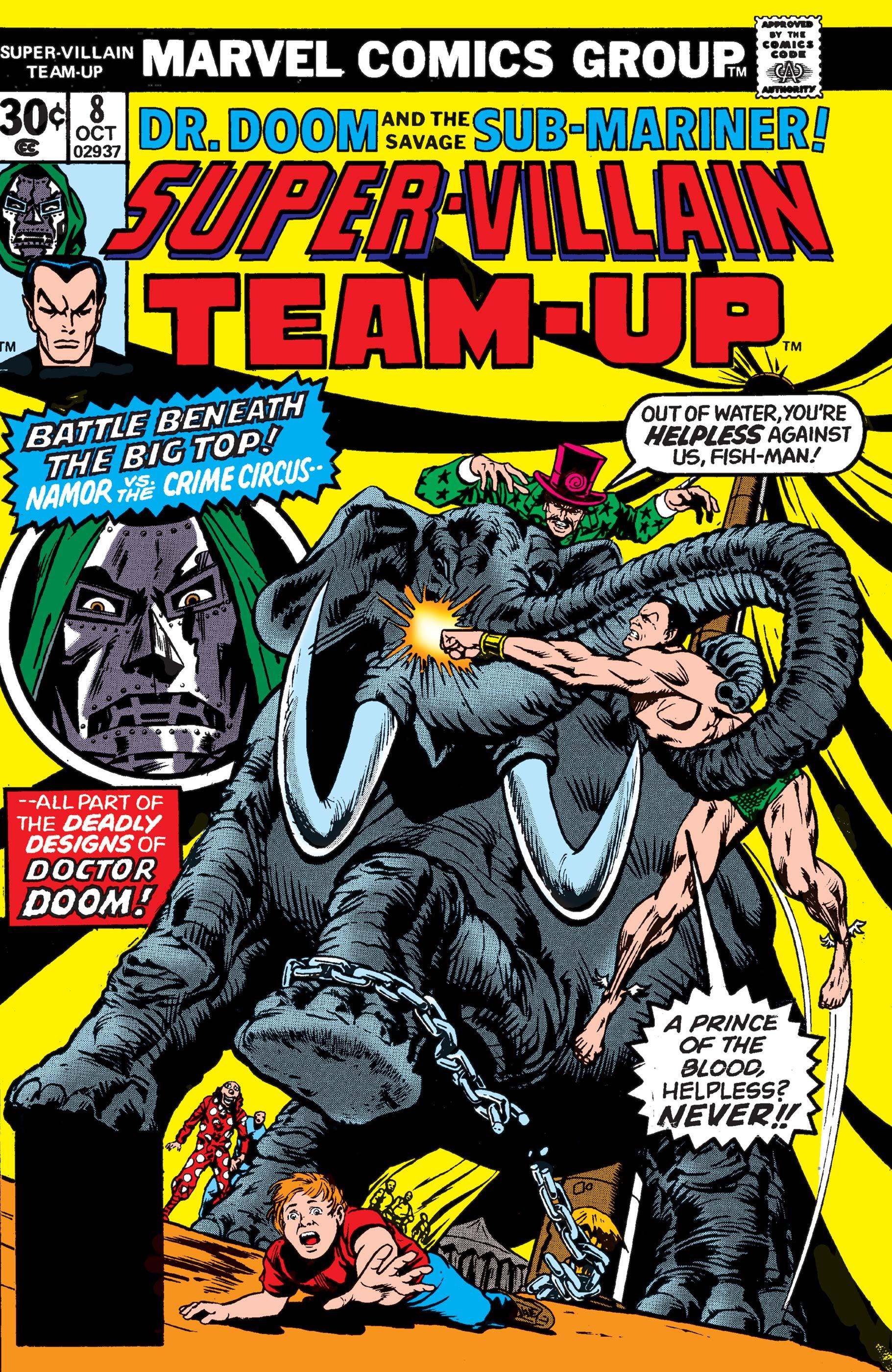 Super-Villain Team-Up (1975) #8