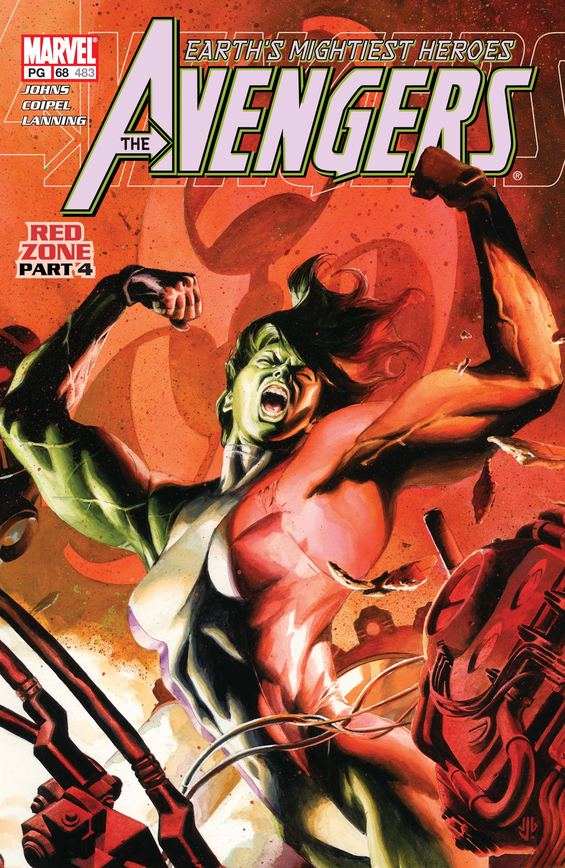 Avengers (1998) #68