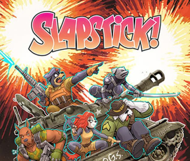 cover from Slapstick Infinite Comic (2016) #4