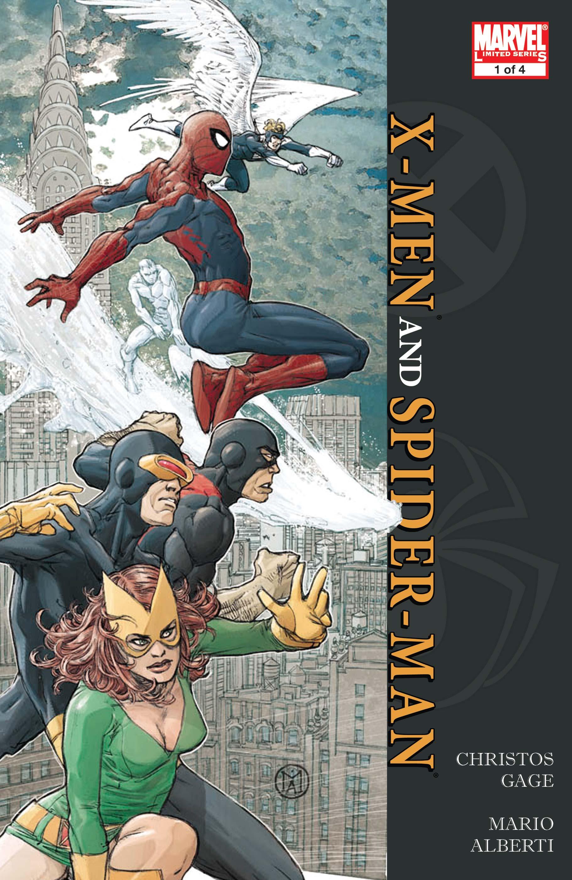 X-Men/Spider-Man (2008) #1