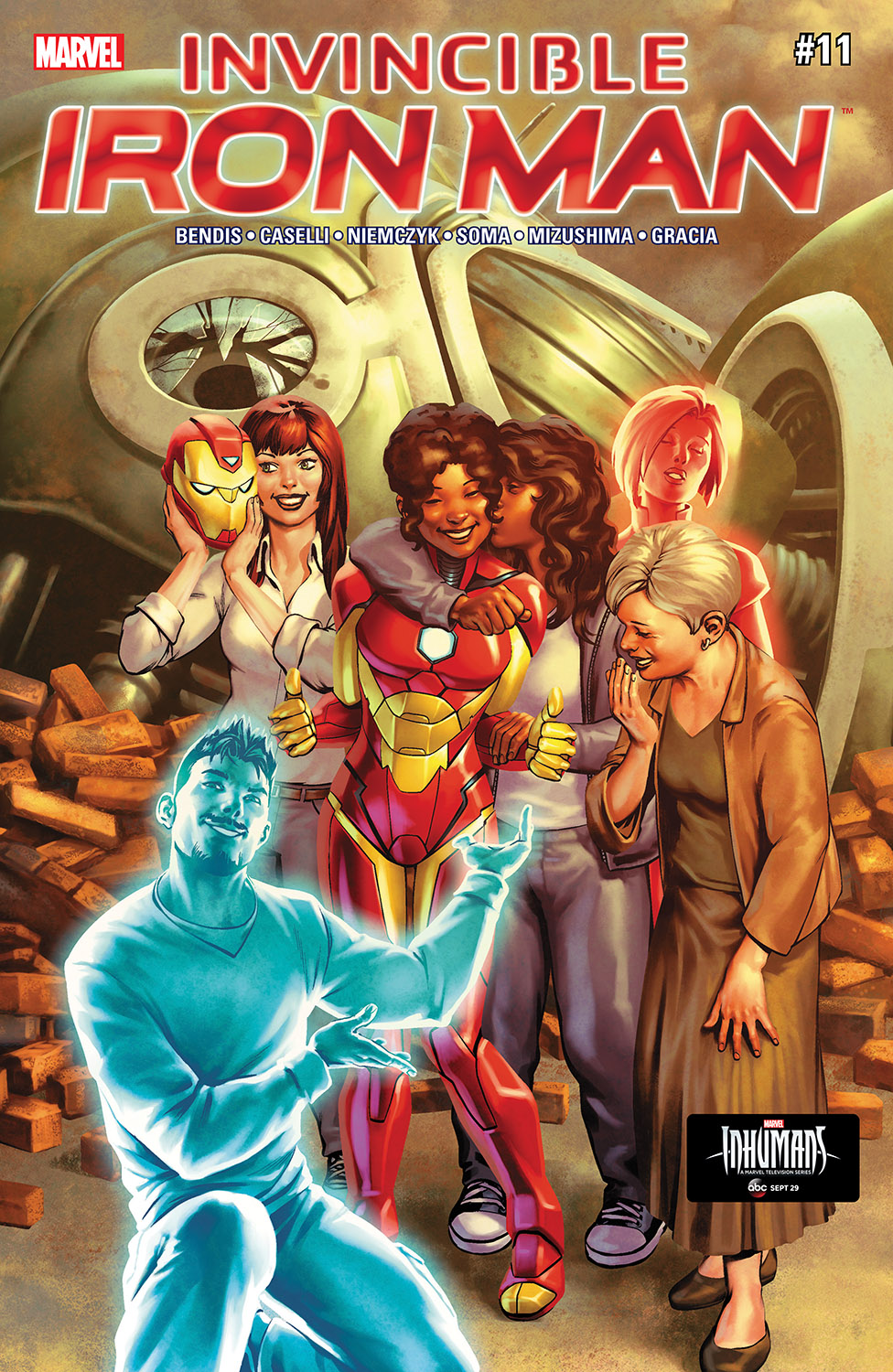 Invincible Iron Man (2016) #11