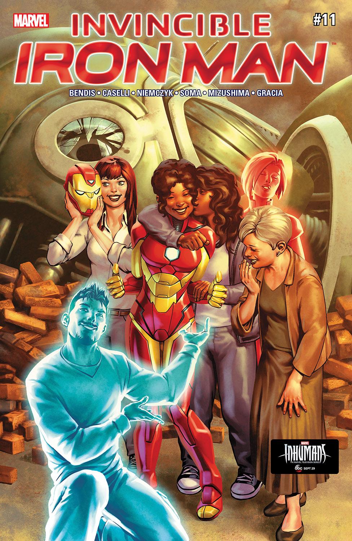 Invincible Iron Man (2016) #11
