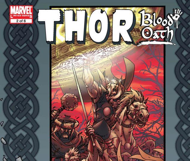 Thor: Blood Oath (2005) #1